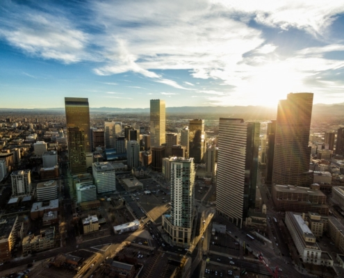 picture of downtown denver, 2020 best for colorado awards