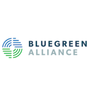 Logo for BlueGreen Alliance