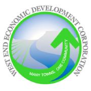 Logo for West End Economic Development Corporation
