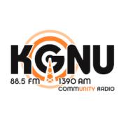 Logo for KGNU