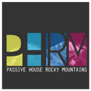 Logo for Passive House Rocky Mountains