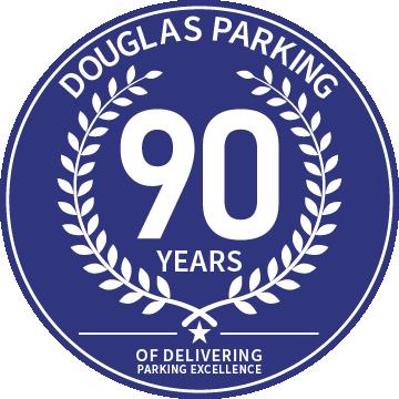 Logo for Douglas Parking